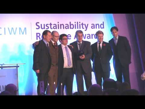 CIWM's Sustainability & Resource Awards Highlights 2016