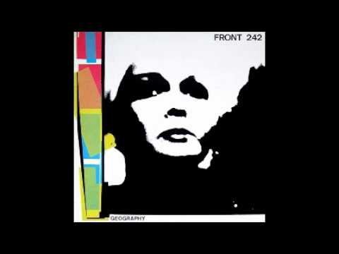 Front 242 - Geography - 10 -  black white blue