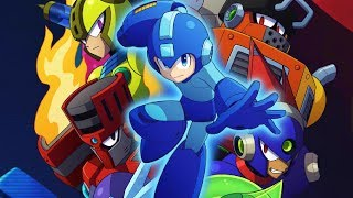 Mega Man 11 Superhero Launch Day  Playthrough