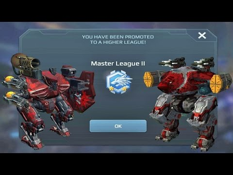 War Robots - Playing League Battles with Friends (Master Lea