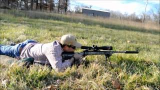 Suppressed Savage .308 - AAC Suppressor