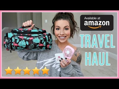 Amazon Haul | TRAVEL ESSENTIALS & MUST HAVES in 2019 (Recommended By You)