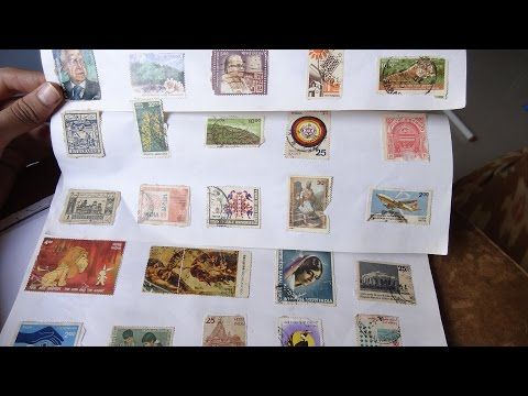 OLD INDIAN Stamps Collection Part 1