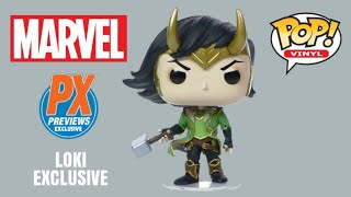 Marvel Loki PX Exclusive 2020 #615 Vinyl Figure Funko Pop