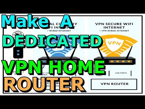 Making A Dedicated VPN Home Router Using A Regular Router TP Link WR940N Private Internet Access PIA