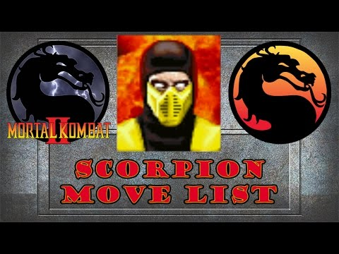Mortal Kombat 2 - Scorpion Move List