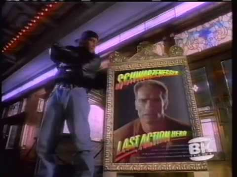 LAST ACTION HERO (1993) Burger King Commerical