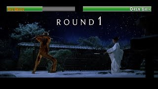 The Bride vs O-ren Ishi-i...with healthbars