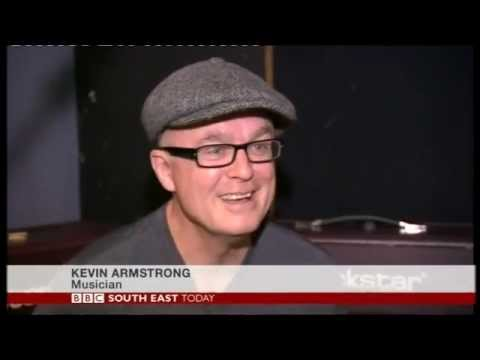 Kevin Armstrong talking about the Wembley Iggy Pop show