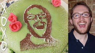 How Make A Photo Cake Portrait - Natural, Edible, Easy