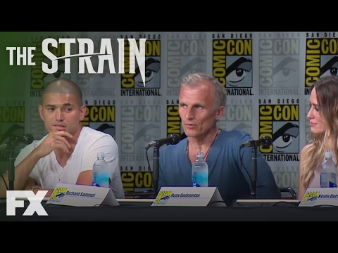 The Strain  Richard Sammel on Eichhorst: ComicCon 2016  FX