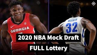 2020 NBA Mock Draft - FULL LOTTERY - Official Draft Order