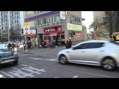 Glimpse small ILSAN street, Goyang South Korea