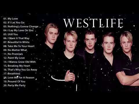 WESTLIFE's TOP Best SONGs Ever - SONG LIST of WESTLIFE