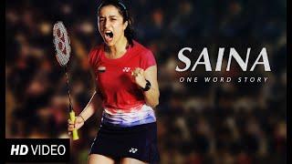 Saina Teaser | Shraddha Kapoor | Saina - One Word Story | Fanmade