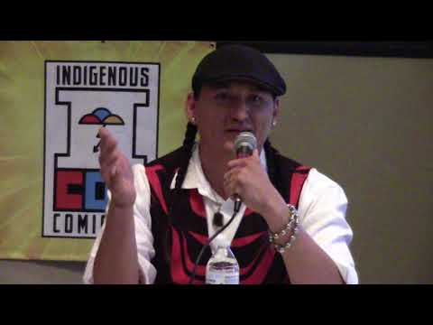 Indigenous Comic Con 2017 - Isleta Resort & Casino | Eugene Brave Rock