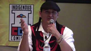 Indigenous Comic Con 2017 - Isleta Resort & Casino | Eugene Brave Rock