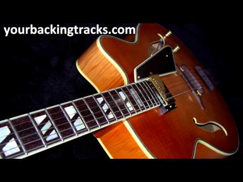 Smooth Jazz Guitar Backing Track in Eb Major / Free Jam Tracks TCDG