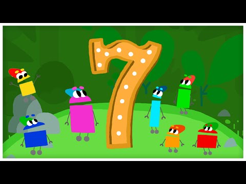 """""""The Number Seven,"""" Number Songs by StoryBots"""