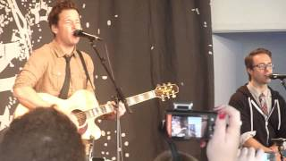 This Song Saved My Life acoustic @ Simple Plan Foundation event 2012