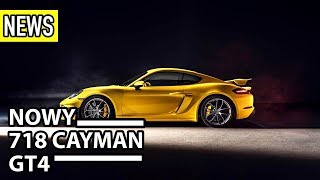 Nowe Porsche 718 Cayman GT4, BMW M, Renault Zoe - #229 NaPoboczu