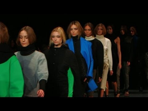 Tibi Channels the '90s For Fall 2013 | New York Fashion Week