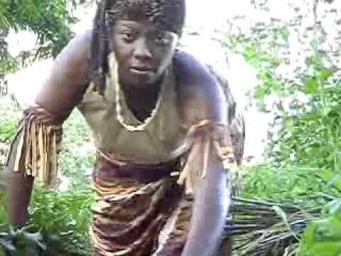 African warrior poku door Marjorie Creton