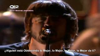 Foo Fighters - Best Of You (Live) (Subtitulado)