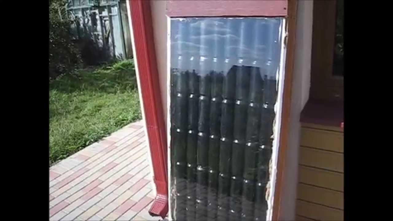 Солнечный коллектор своими руками видео ютуб фото 257