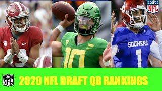 2020 NFL DRAFT QB RANKINGS 1.0