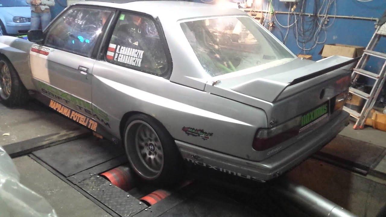 BMW e30 v8 m60b40 eaton m112 Maximus Drift Team on Dyno