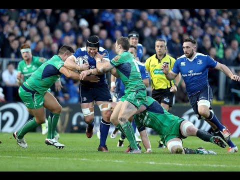 Round Seven Highlights: Leinster Rugby v Connacht Rugby | 2016/17 season