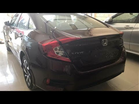Honda Pakistan Introduces New Color For Honda Civic 2018 - YouTube