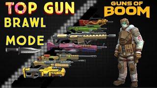 TOP GUN BRAWL MODE | Guns of Boom