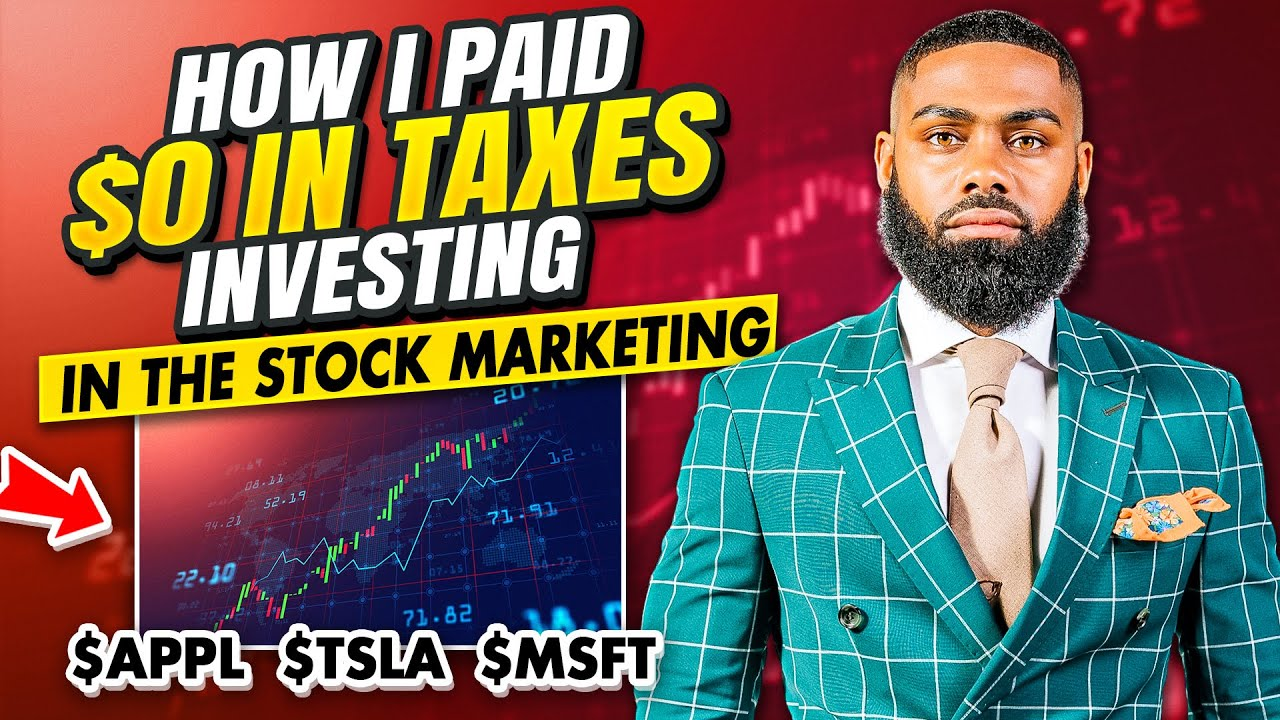 PAY $0 IN TAXES ON STOCK MARKET GAINS (5 TIPS)
