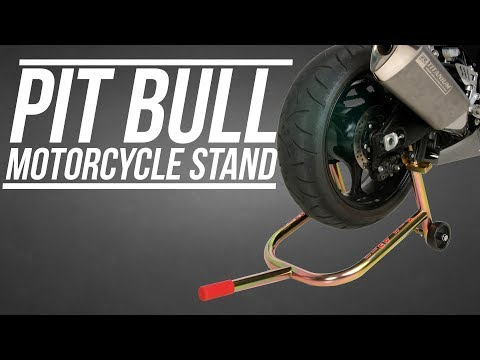 Buy Tires Online >> Pit Bull Rear Motorcycle Stand Video Review from