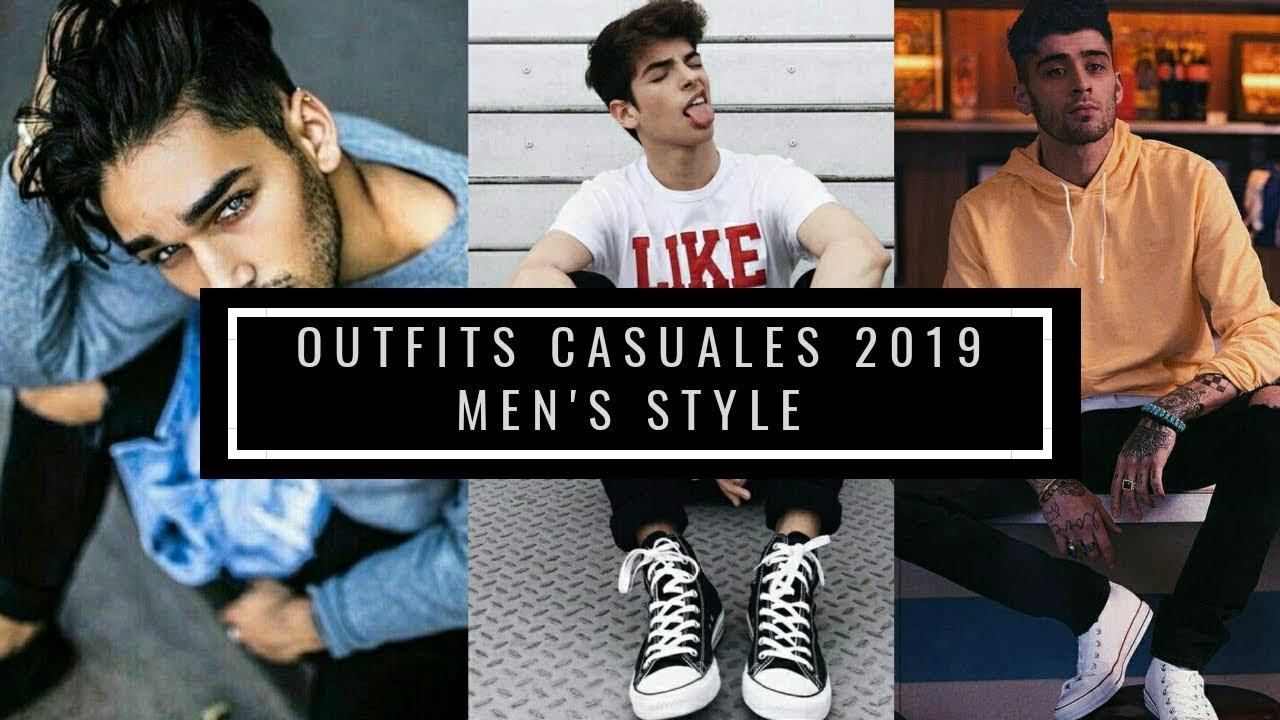 [VIDEO] – Outfits casuales juveniles 2019| men's style | for man