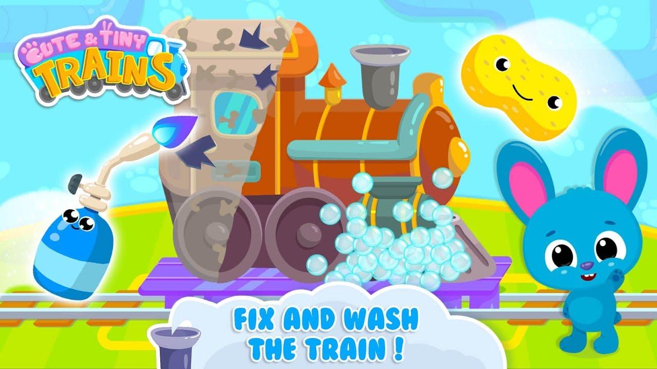 Cute & Tiny Trains - Choo Choo! Fun Game for Kids - …