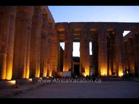 Luxor Temple at Night 2, Luxor Egypt
