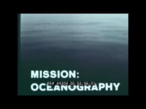 U.S. NAVY  MISSION: OCEANOGRAPHY  UNDERSEA RESEARCH  SEALAB  44304
