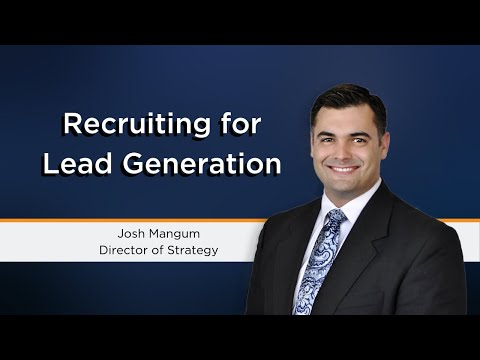 Recruiting For Lead Generation | Marketing Recruitment Firms