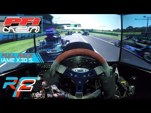 RFactor 2 | PFI Karting @ IAME X30 Senior [FULL RACE | GoPro Onboard]