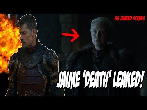 "Jaime ""LEAKED"" Death Scene! Game Of Thrones Season 8 (Leaked Scenes)"