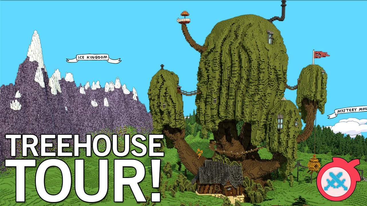Adventure Time Custom Map Treehouse Youtube