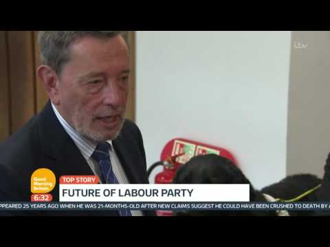 Re-Election Of Jeremy Corbyn Is A Catastrophe Says David Blunkett | Good Morning Britain