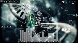 Customize your Windows 7 with Rainmeter