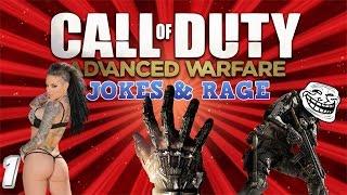 Call of Duty - Advanced Warfare: Jokes & Rage (Christy Mack, Whitegirl @$$, Room Camping, Sharkboy)