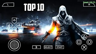 Top 10 PSP Games Under 150MB For Android || Best PPSSPP Emulater Games Android || High Graphics ||