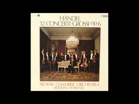 G.F.Händel Concerto Grosso No.8 Op.6 in C minor HWV326