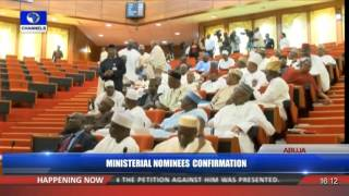 Ministerial Confirmation: PDP Senators Stage A Walkout As Senate Confirms Amaechi